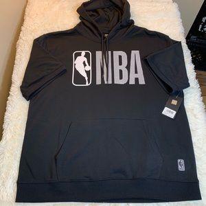 NBA Short Sleeve Men's Hoodie Reflective Size XXL